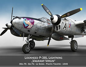 Lockheed P-38 Lightning - Vagrant Virgin 3D