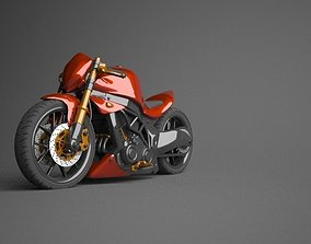 Kawasaki Ninja Naked modified 3D