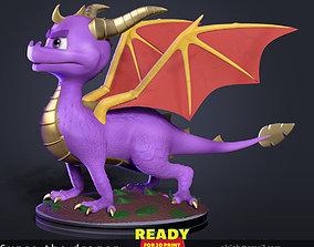 3D printable model Spyro the Dragon Fan art