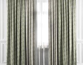 Curtain Set 17 3D model