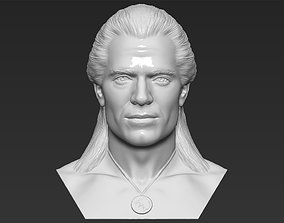 Geralt of Rivia The Witcher Cavill bust 3D printing