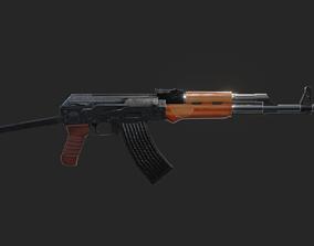 realistic Ak-47 3D model
