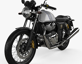 Royal Enfield Continental GT650 2019 3D model