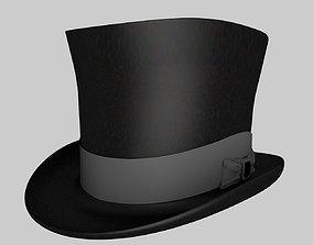 3D model Fancy Top Hat Package