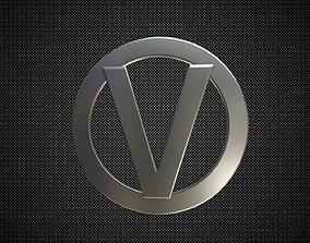 3D model 3d vortex logo