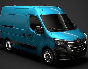 Renault Master L1H2 Van 2020 3D model
