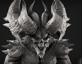 Demon 1 High Poly Sculpt 3D