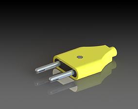 Power Plug Assembly 3D model