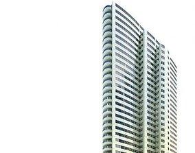 3D model skyscraper 55 AM71