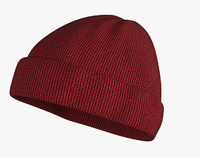 Beanie Hat 3D model
