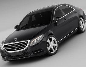 Mercedes S-class MY 2014 3D model
