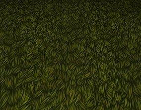 ground grass tile 04 3D model