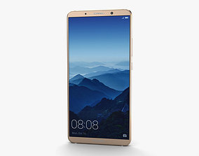 Huawei Mate 10 Pro Mocha Brown 3D