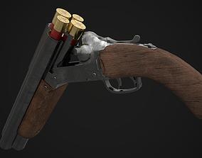 3D model Shotgun Game Ready