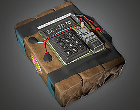 BHE - Explosive Device 1 - PBR Game Ready 3D asset