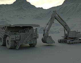 Mining Scene 3D
