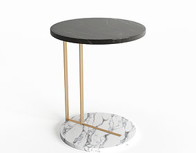 Marble Side Table 3D model