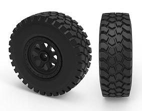 Rough Terrain Tire 3D printable model
