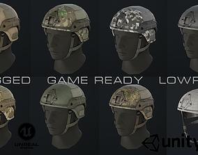 DOMINATOR II Ballistic Helmet 3D model
