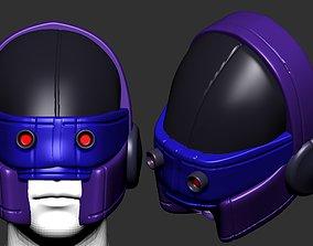 helmet high poly sculpt 3d printable ver 2