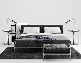 3D model modern Modern Bed