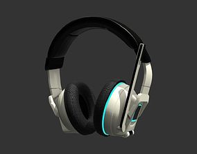 Headphones 3D model PBR gadget