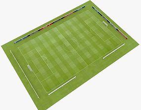 3D asset Soccer stadium