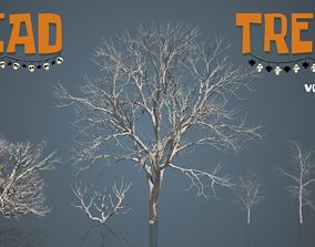 Dead Trees 2 3D model