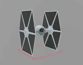 3D model tie fighter star wars