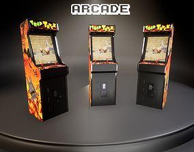 3D asset Arcade Cabinet