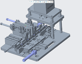 3D printable model SUB automatic harpoon machine