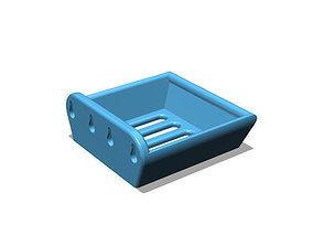 Bathroom Soap Tray wall mounted 3D printable model