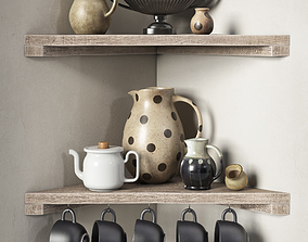 3D Decorative set for the kitchen - Provence