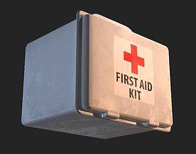 First Aid Box 3D asset