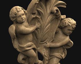 Angels Relief 3D Model deco