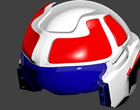 3D model Robotech helmet fanmade