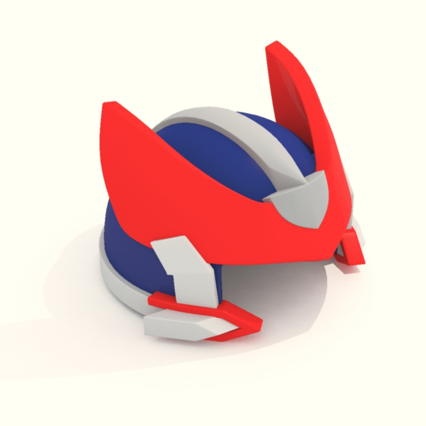 Cartoon Robot Helmet Model CRH6