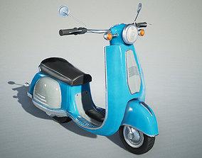 3D asset UE4 City Scooter - Rigged Blueprint 2
