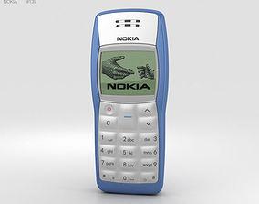 Nokia 1100 Blue blue 3D