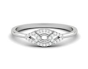 platinum jewelry Women Band Ring 3dm render detail