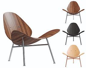 Bernhardt Design Pedersen Easy Chair 3D model