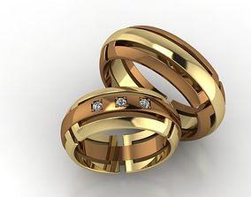 3D printable model Wedding rings 81