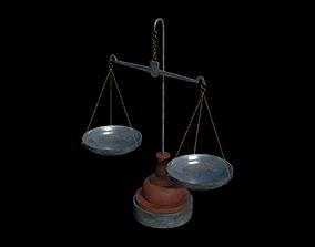 Balance scale 3D