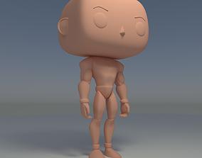 Custom Pop Infinity Hero 3D Print Model