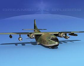 Fairchild C-123K Provider V05 3D