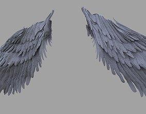 3D model Harpy Wings