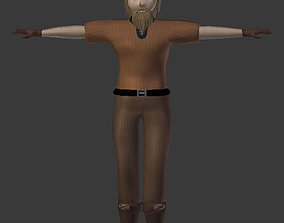 3D asset rigged Dracon85 Variable Villager Male