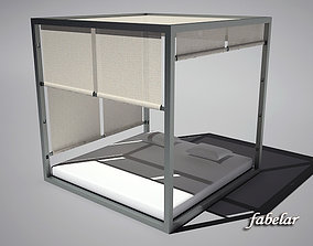 3D Four-poster bed 2