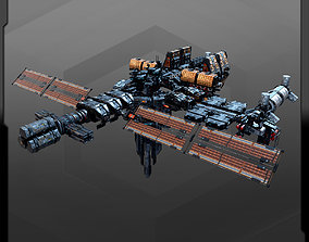 SF Modules for Space Stations - MS6 3D asset