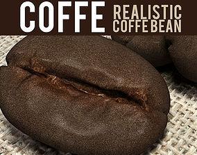 coffee bean 3D